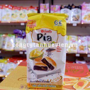 Bánh pía chay mè đen Tân Huê Viên